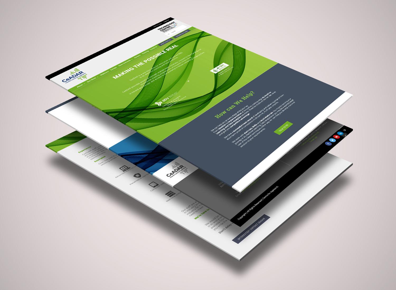 Responsive website build for RecommenderX, Dublin